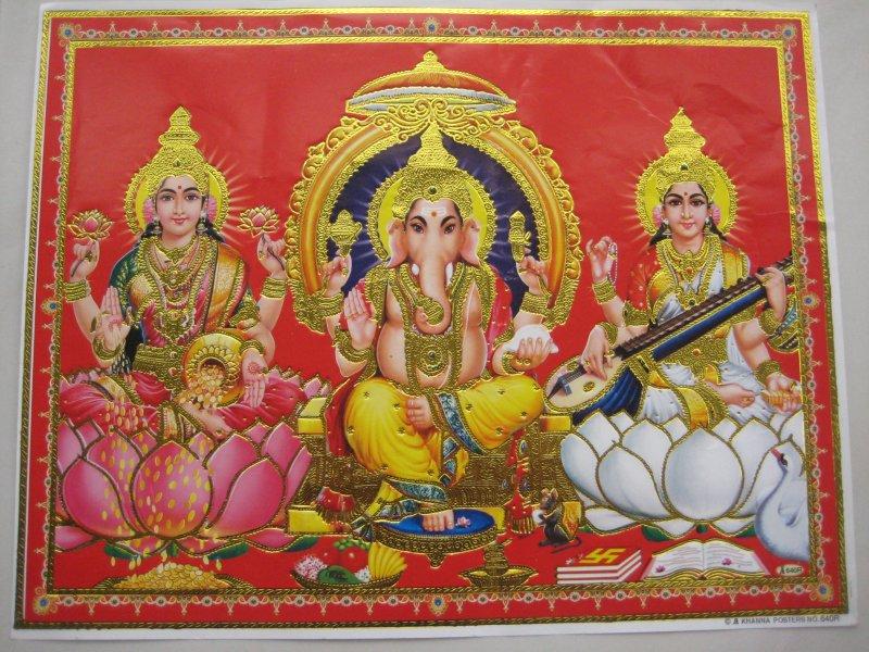 Hindus Götterbilder