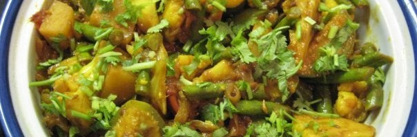 Sabji Tarkari – Variante 1 (Gemüse Curry)