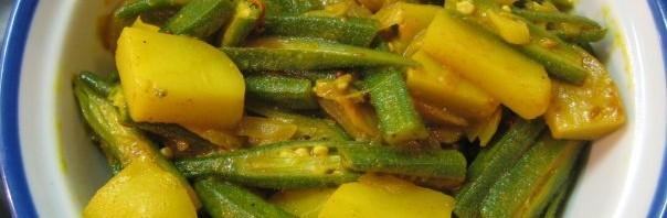 Bhindi Aloo Curry