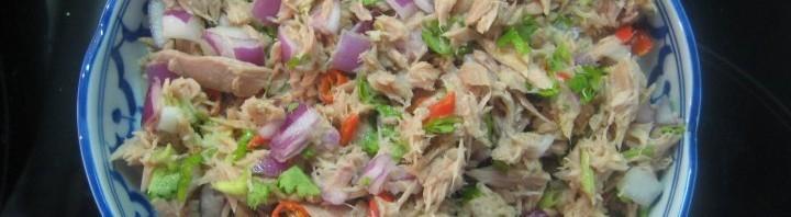 Scharfer Thon Salat