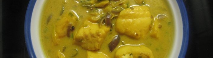 Fisch Curry in Kokosnussmilch