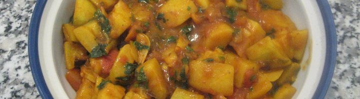 Dhudi Aloo Curry