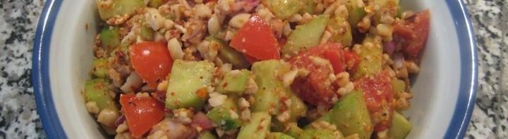 Scharfer Gurken Salat