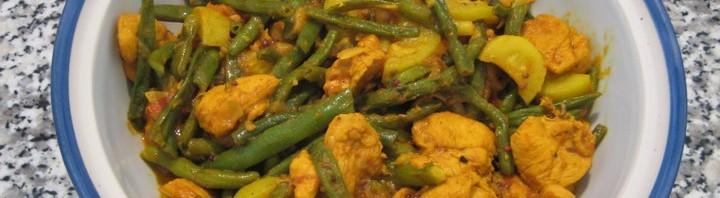 Pouletfleisch Simi Curry