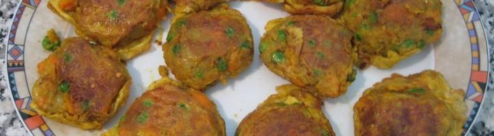 Sabji Chop (Gemüse Tätschli)