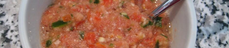 Scharfer Tomaten Achar (gemixt)