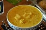 Fisch in Kokosmilch Curry